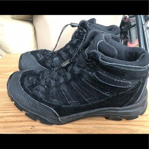 Vibram 511D Men's Black Suede MID Hiking Boots